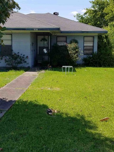 Port Arthur Single Family Home For Sale: 1801 19th St