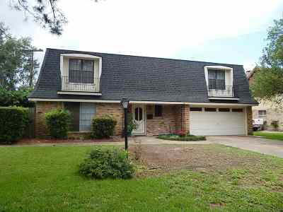 Port Arthur Single Family Home For Sale: 2725 Glacier St