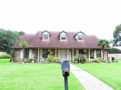 Port Arthur Single Family Home For Sale: 3830 Chandelle Ln