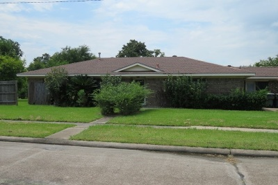 Port Arthur Single Family Home For Sale: 601 W Thomas