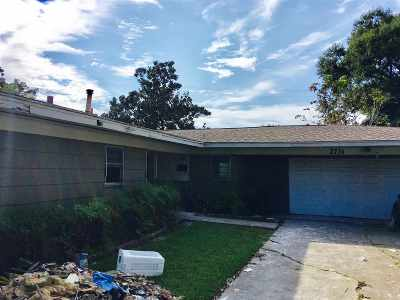 Port Arthur Single Family Home For Sale: 2731 34th St.