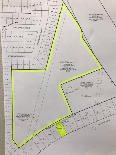 Residential Lots & Land For Sale: Wheeler Road