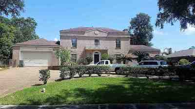 Port Arthur Single Family Home For Sale: 3738 Lakeshore