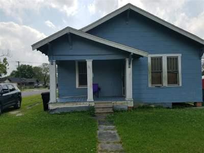 Port Arthur Single Family Home For Sale: 1901 Stilwell Boulevard