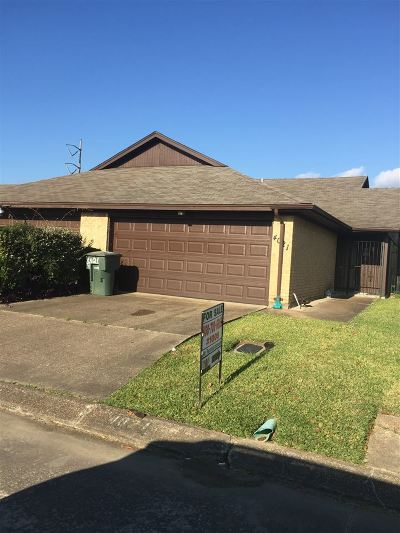 Port Arthur Single Family Home For Sale: 4021 Heatherbrook Court