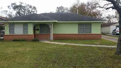 Port Arthur Single Family Home For Sale: 3218 26th Street