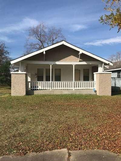 Port Arthur Single Family Home For Sale: 3141 6th St