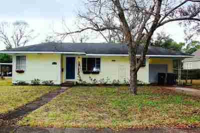 Port Arthur Single Family Home For Sale: 4539 Hollywood Drive