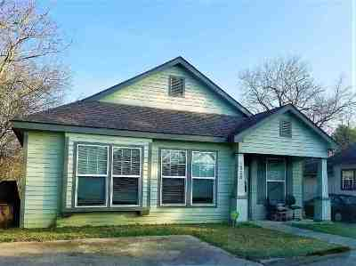 Port Arthur Single Family Home For Sale: 1328 18th Street