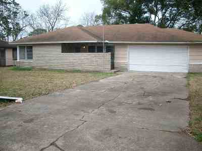 Port Arthur Single Family Home For Sale: 5013 Lakeside Dr