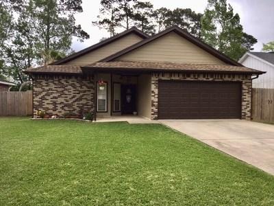 Vidor Single Family Home Pending Take Backups: 555 Needles