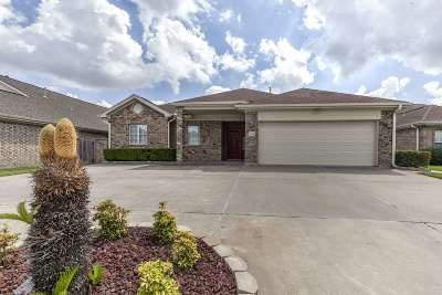Port Arthur Single Family Home For Sale: 7624 Golfhill Drive