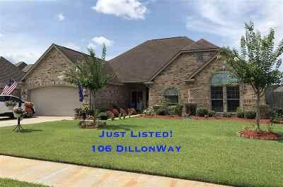 Lumberton Single Family Home For Sale: 106 Dillons Way
