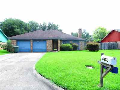 Beaumont Single Family Home For Sale: 6230 Chisholm Trl