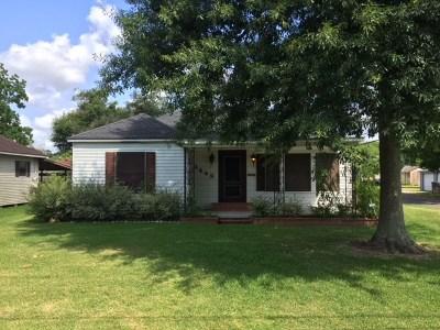 Port Arthur Single Family Home For Sale: 3449 39th Street