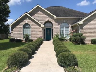 Port Arthur Single Family Home For Sale: 8349 Greenbriar Lane