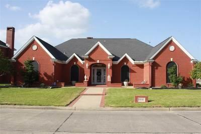 Port Arthur Single Family Home For Sale: 8000 Eyre Dr.