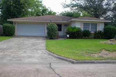 Port Arthur Single Family Home For Sale: 4030 Everglades