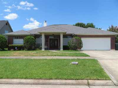Port Arthur Single Family Home For Sale: 4449 Kandywood