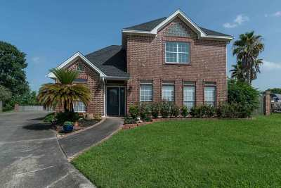 Port Arthur Single Family Home Contingent Upon Other: 8024 Brazos
