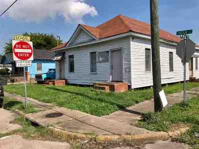 Port Arthur Single Family Home For Sale: 1000 & 1002 Abe Lincoln