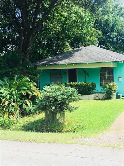 Port Arthur Single Family Home For Sale: 2036 13th Street