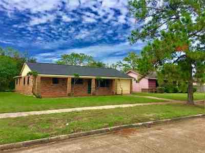 Port Arthur Single Family Home For Sale: 255 Linkwood Dr