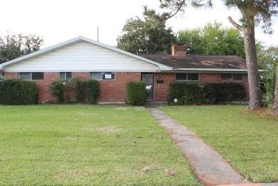 Port Arthur Single Family Home For Sale: 4249 Vassar St.