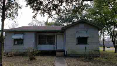 Port Arthur Single Family Home For Sale: 3050 22nd