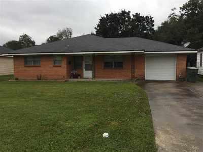 Port Arthur Single Family Home For Sale: 3109 29th