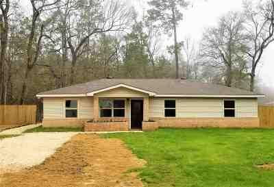 Vidor Single Family Home For Sale: 2525 E Railroad St.