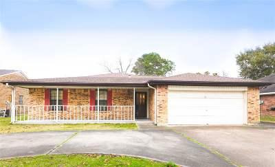 Port Arthur Single Family Home For Sale: 7744 Brazos Avenue