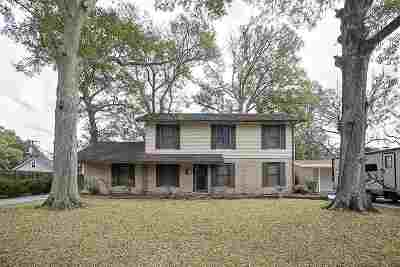 Port Arthur Single Family Home For Sale: 4536 Forest Dr.