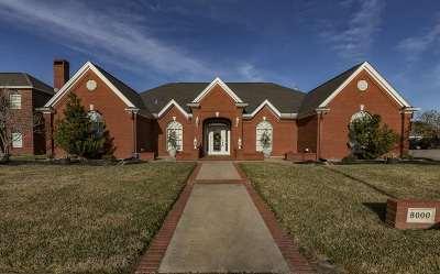 Port Arthur Single Family Home For Sale: 8000 Eyre Street