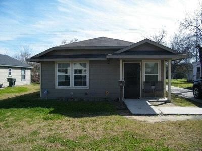Port Arthur Single Family Home For Sale: 3032 19th St