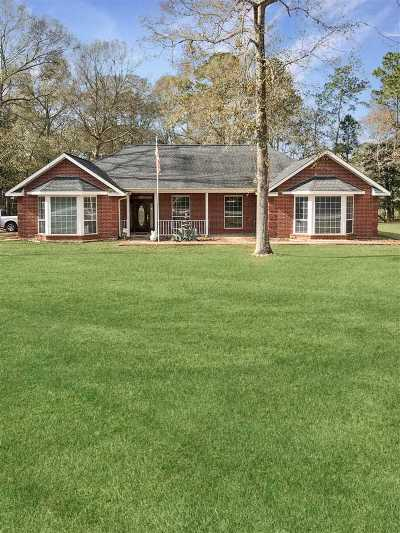 Kountze Single Family Home For Sale: 3058 Clearlake Rd