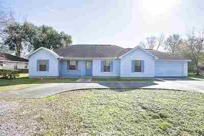 Port Arthur Single Family Home For Sale: 3110 Mimosa St