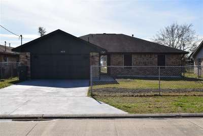 Beaumont TX Single Family Home For Sale: $97,000