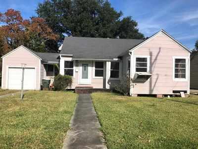 Port Arthur Single Family Home For Sale: 520 Duff