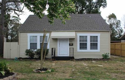 Beaumont TX Single Family Home For Sale: $139,900