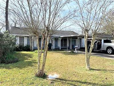 Beaumont TX Single Family Home For Sale: $76,500