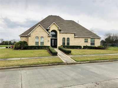 Port Arthur Single Family Home For Sale: 7122 Kelliwood