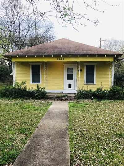 Port Arthur Single Family Home For Sale: 1849 11th St