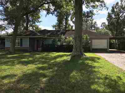 Beaumont TX Single Family Home For Sale: $74,900