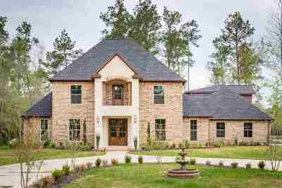 Kountze Single Family Home For Sale: 10630 Rock Creek Ridge