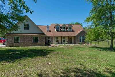 Kountze Single Family Home For Sale: 4742 Bryan Ln