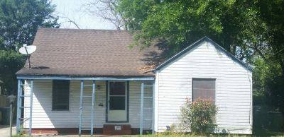 Beaumont TX Single Family Home For Sale: $40,000