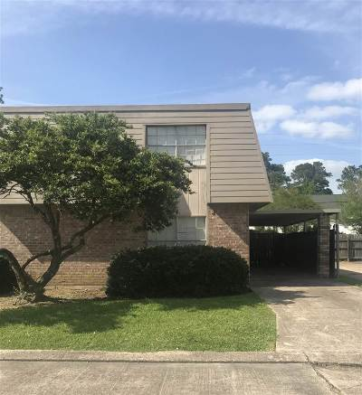 Beaumont TX Condo/Townhouse For Sale: $79,000