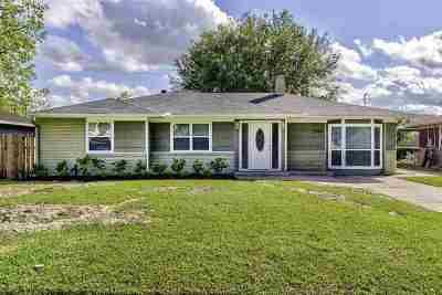 Groves Single Family Home Contingent On A Sale: 2749 Azalea