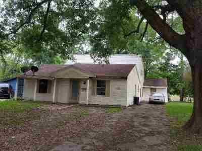 Port Neches Single Family Home For Sale: 1226 West Drive